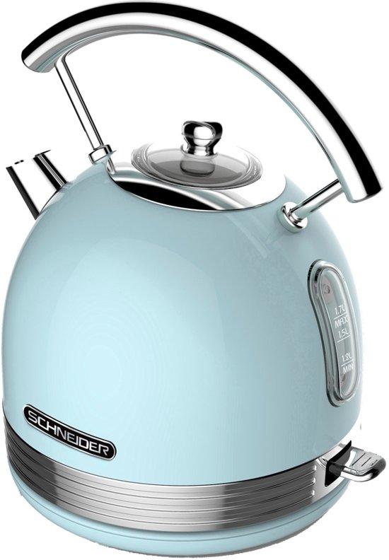 Schneider SL W2 LB Retro Waterkoker Light Blue