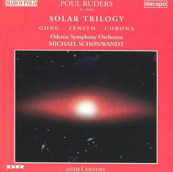 Ruders: Solar Trilogy /Schonwandt, Odense Symphony Orchestra