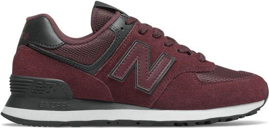 New Balance Sneakers - Maat 36.5 - Vrouwen - bordeauxrood/zwart