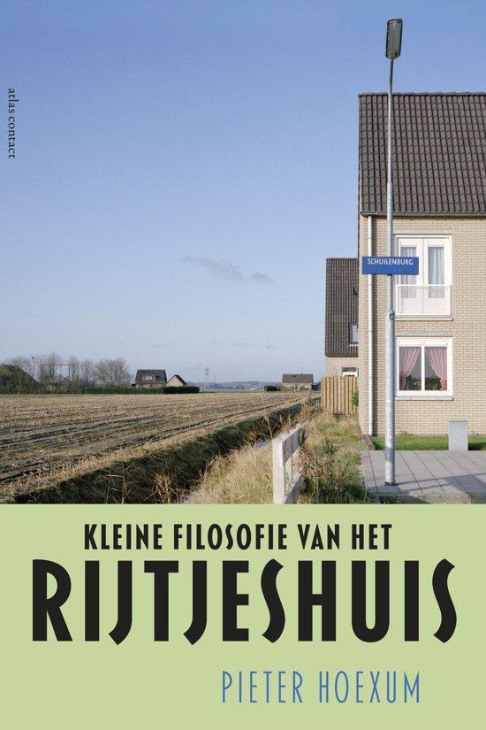 Bolcom Kleine Filosofie Van Het Rijtjeshuis Pieter