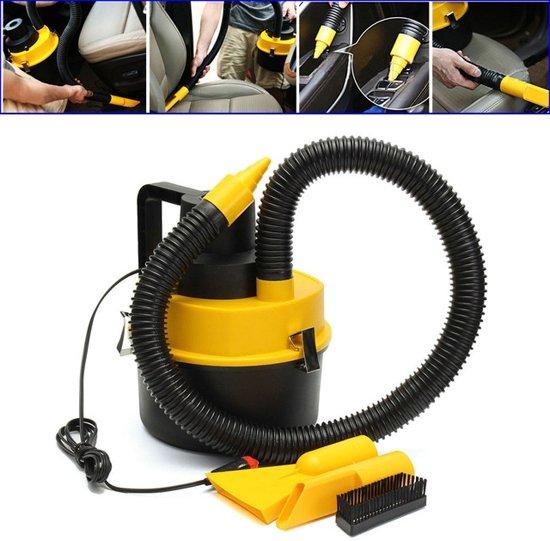 Auto Stofzuiger 12V - Nat/Droog - 12 Volt Auto Vacuum Clean Autostofzuiger - Met Mondstukken