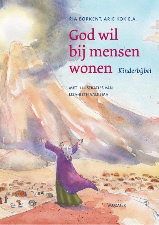 Boek cover God wil bij mensen wonen van Ria Borkent (Onbekend)