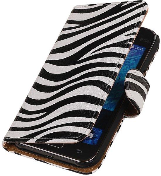 Zebra Samsung Galaxy J1 Booktype Telefoonhoesje in Bernissart