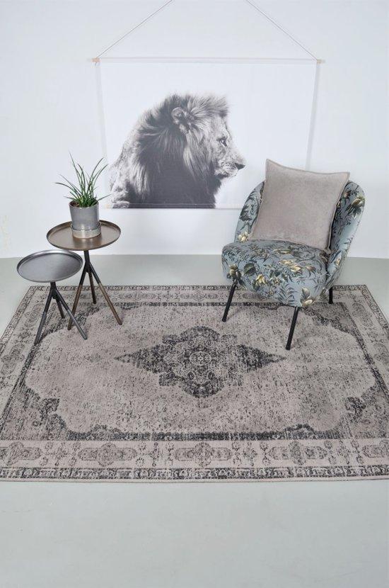 Vintage Vloerkleed Lowla 70x140 - Antraciet