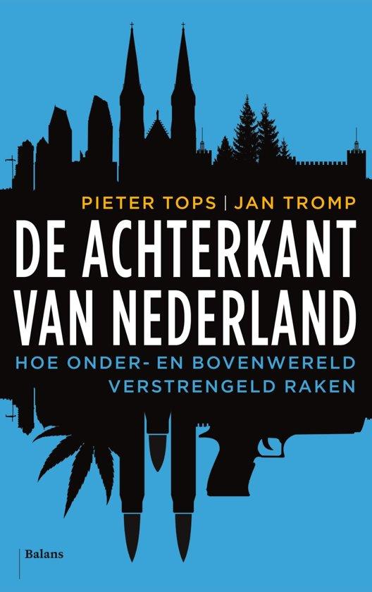 Boek cover De achterkant van Nederland van Pieter Tops (Onbekend)