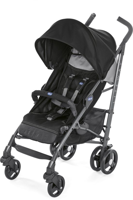 Chicco Liteway 3 buggy Jet Black