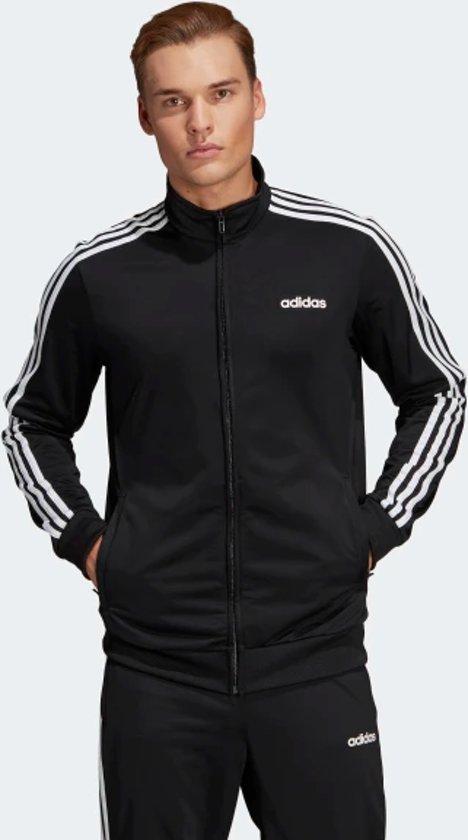 adidas Essentials 3 Stripes vest heren zwartwit