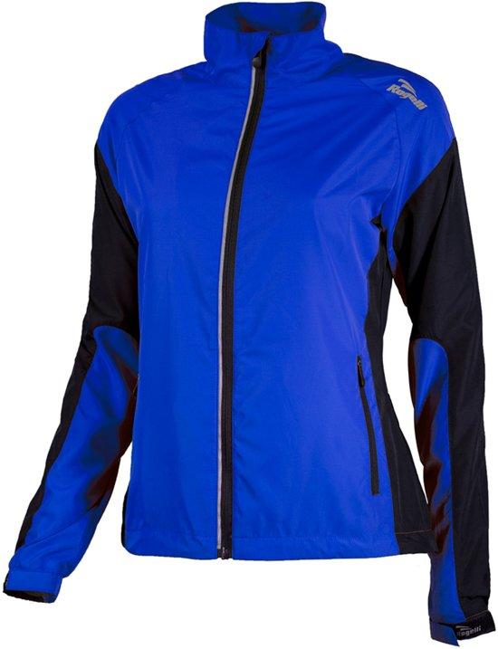 Rogelli Elvi Hardloopjack Dames Sportjas - Maat XL  - Vrouwen - blauw/zwart