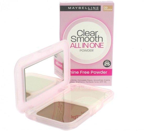 Maybelline Clear Smooth Poeder - N°09 Cinnamon SPF 20