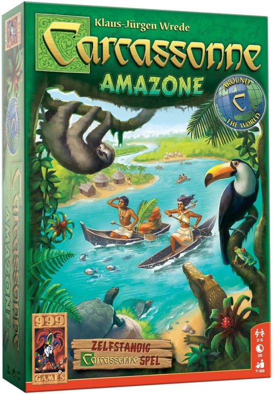 Carcassonne: Amazone Bordspel