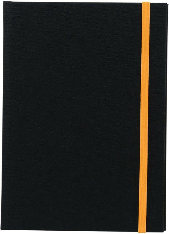 GOLDBUCH GOL-65935 Linum Gastenboek 22/30 zwart 935 Valentinaa