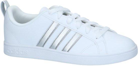 adidas schoenen dames wit met zilver