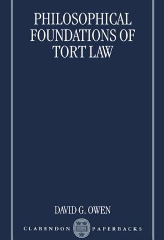 tort law basics essay