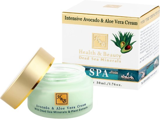 24H Facial Cream - Moisturizing - Avocado/Aloe vera - 50 ml