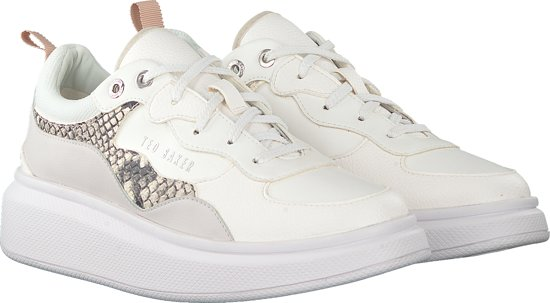 Ted Baker Dames Lage Sneakers Arellis - Wit
