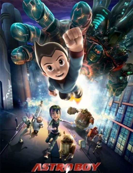 Cover van de film 'Astro Boy'
