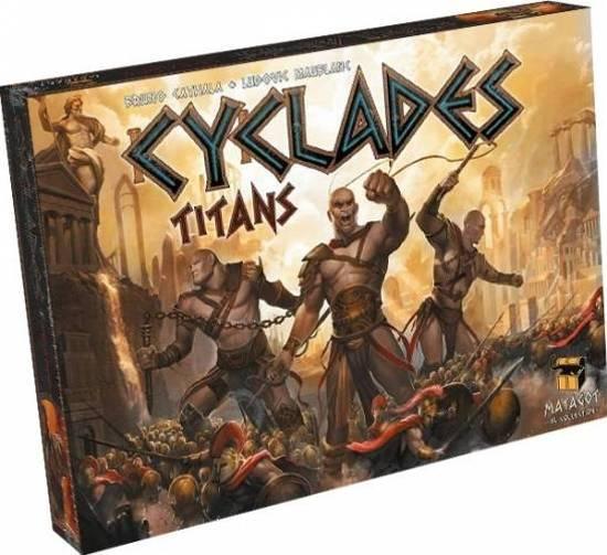 Afbeelding van het spel Cyclades - Titans Uitbreiding