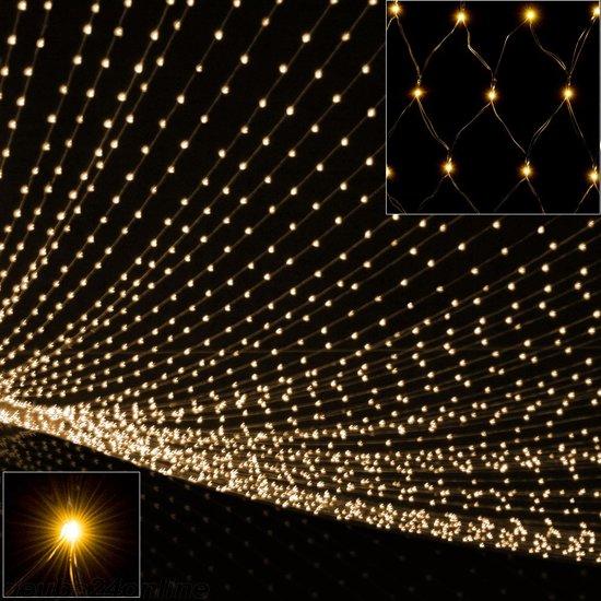 Lichtnet kerstverlichting - 120x120cm