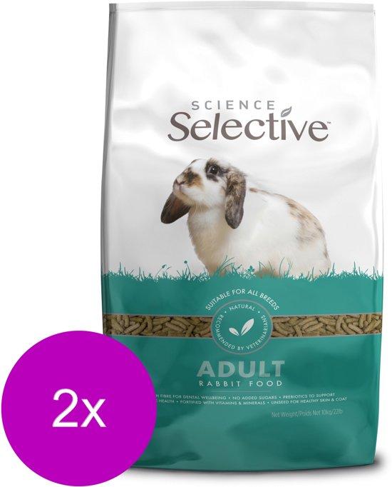 Supreme science selective rabbit konijnenvoer 2x 10 kg