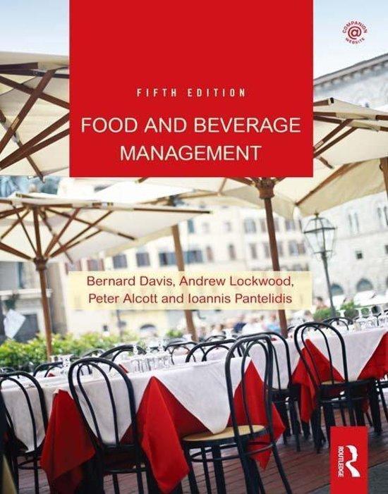 Food And Beverage Management Ebook