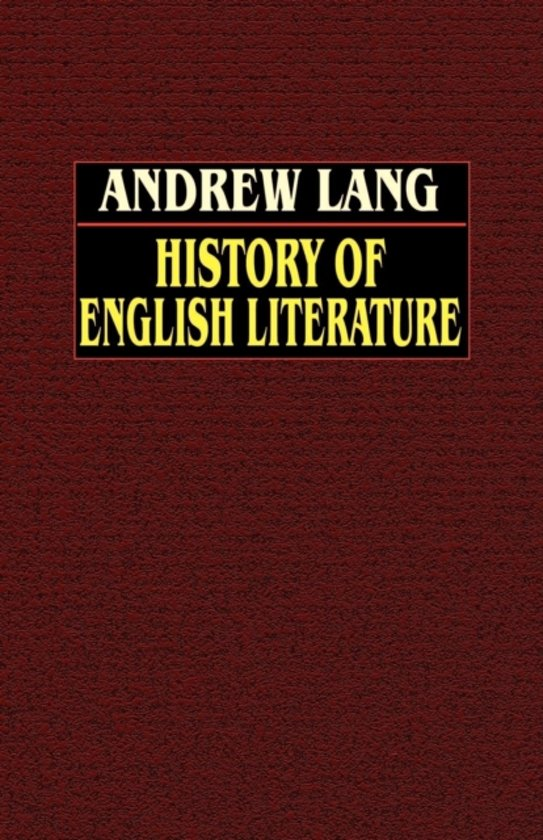 History of English Literature from Beowulf to Swinburne