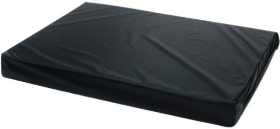 Comfort Kussen Hondenkussen Orthopedisch nylon 90 x 125 x 10 cm - Zwart