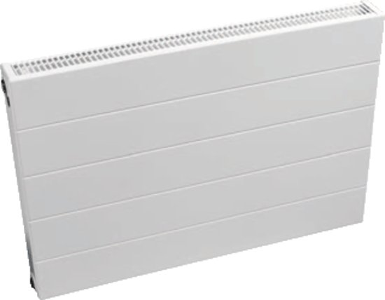 Quinn paneelradiator Ligna Quattro, staal, wit, (hxlxd) 600x1200x74mm