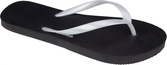 Waimea Teenslippers Palm Beach Dames Zwart/wit Maat 42