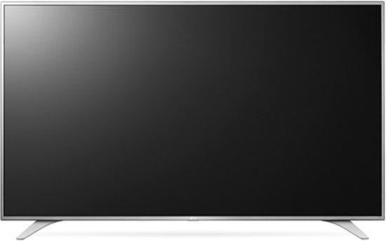 LG 49UH650V 49'' 4K Ultra HD Smart TV Wi-Fi Zilver LED TV