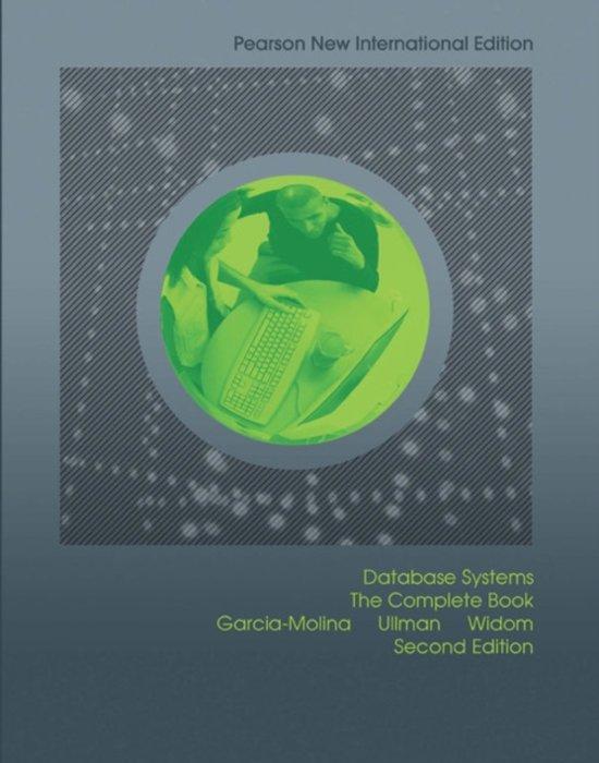 Boek cover Database Systems: Pearson  International Edition van Hector Garcia-Molina (Paperback)