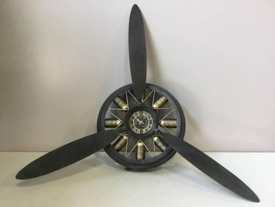 Wandklok Propeller - Ã65 cm