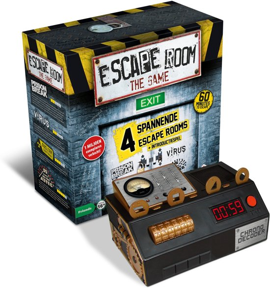 Thumbnail van een extra afbeelding van het spel Escape Room The Game - Gezelschapsspel