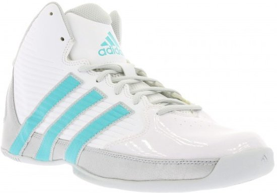 big sale b6cbb df417 adidas - Basketbalschoenen - Dames - Maat 43 13 - Wit
