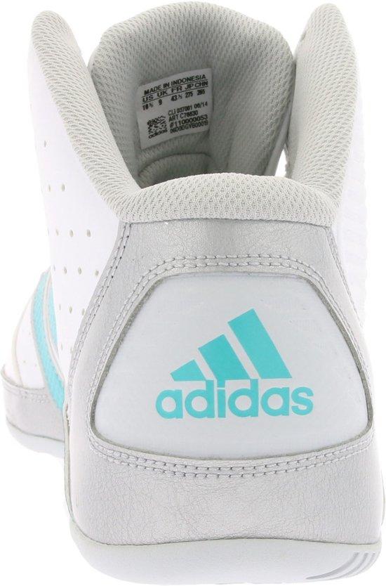 bol.com | adidas - Basketbalschoenen - Dames - Maat 43 1/3 - Wit