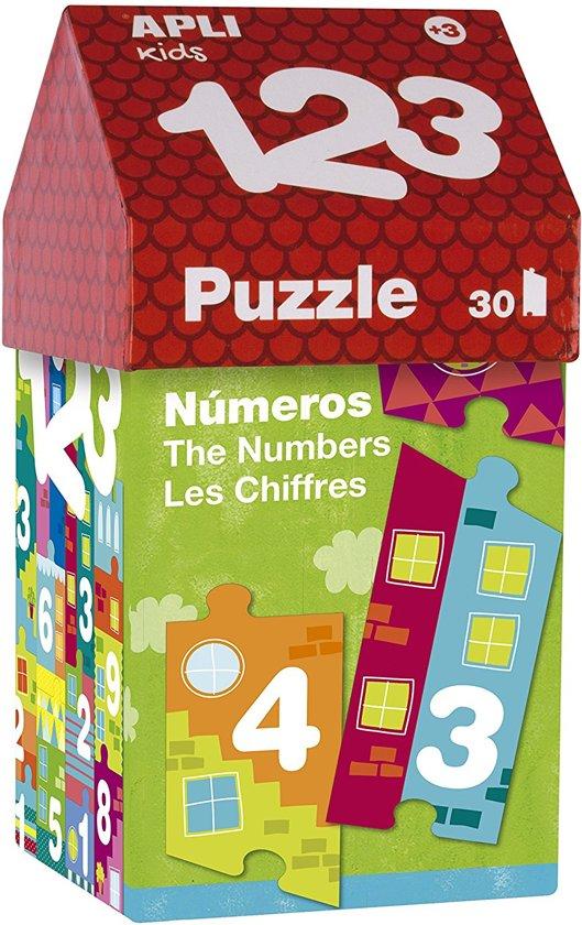 Imaginarium PUZZLE 123 - Puzzel met Cijfers - Grote Stukken