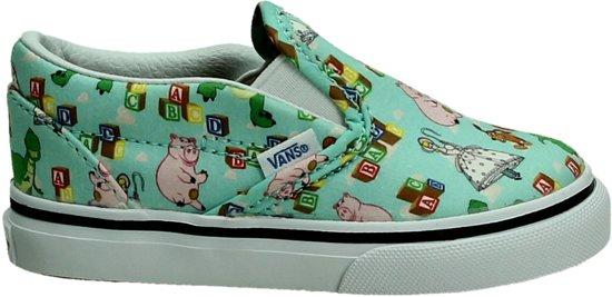 Vans Kids Classic Slip On Core (Toddler) Kids Shoes Black