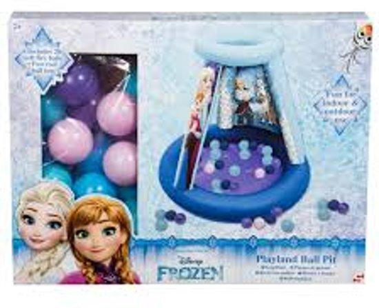 Frozen ballenbak met 20 ballen