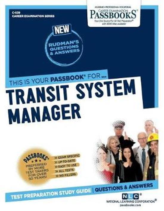 Transit System Manager