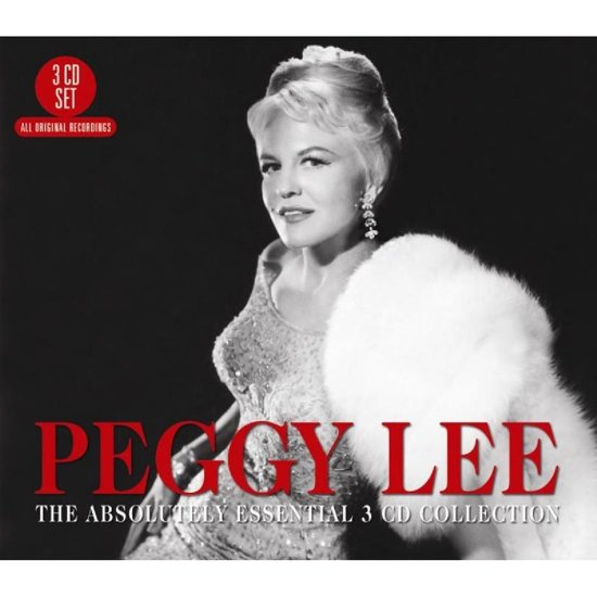 CD cover van The Absolutely Essential van Peggy Lee