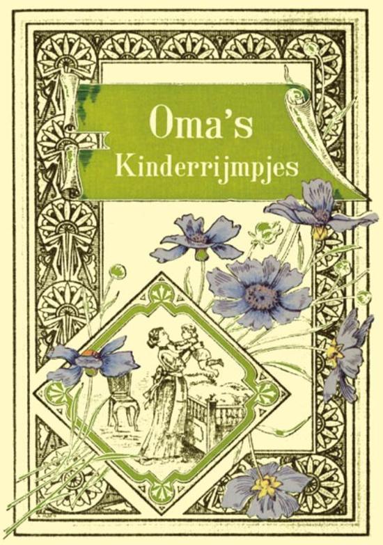 Cover van het boek 'Oma's kinderrijmpjes' van  Onbekend