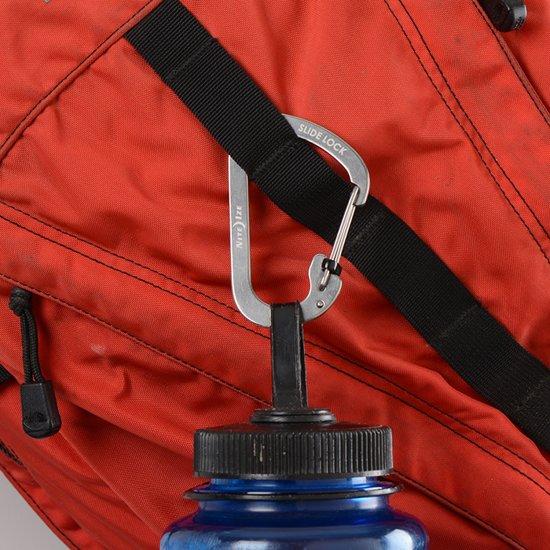 NITE IZE SlideLock Carabiner #4 - Stainless