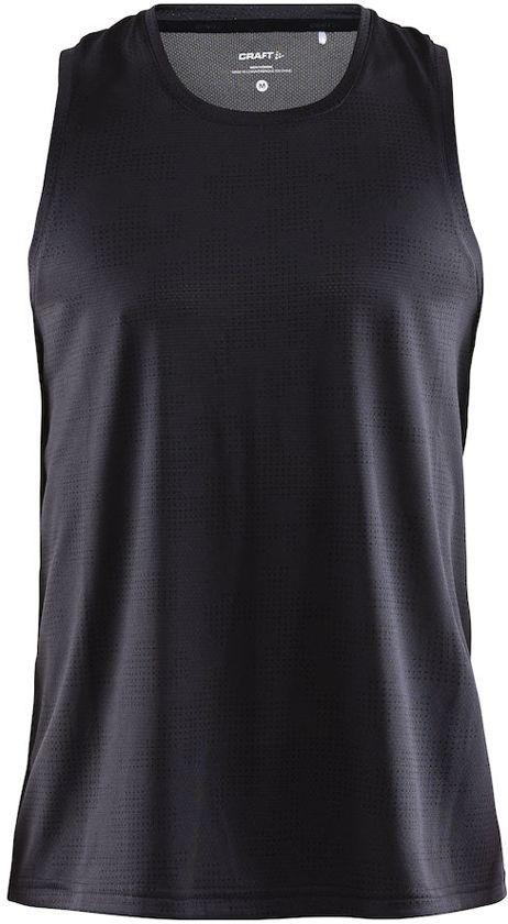 Craft Eaze Singlet M Sportshirt Heren - P Camo Crest