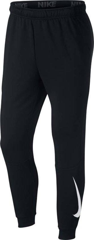 Pant HerenZwart Tapered Nike Sportbroek Fleece Dry ZTOkXuPlwi