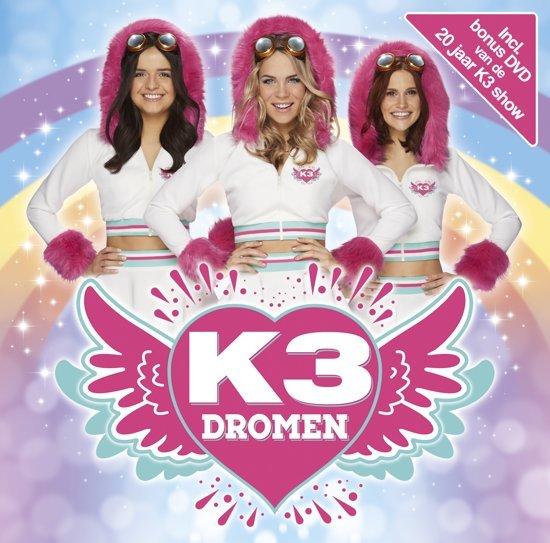 CD cover van K3 - Dromen + Show van K3