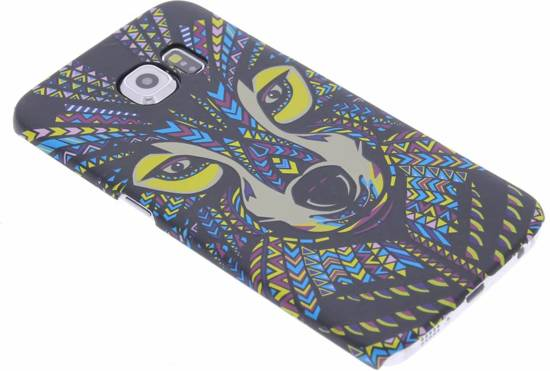 Owl Animal Design Aztèque Étui Rigide Pour Bord De Samsung Galaxy S nIRmdY1Qxb
