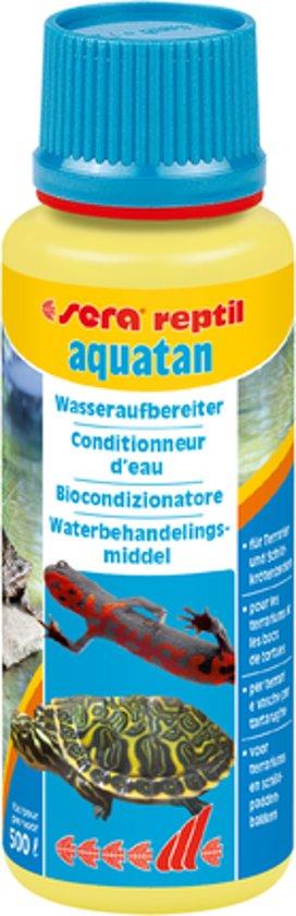 sera reptil aquatan - 100ml - Waterbehandelingsmiddel voor reptielen