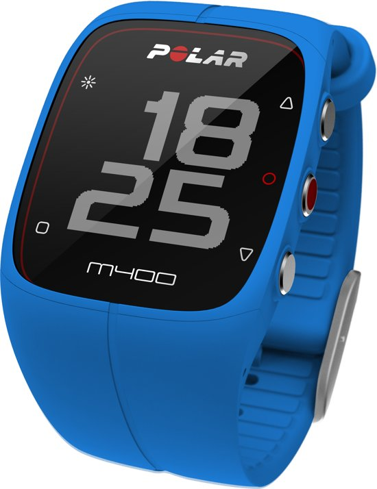 Polar M400 HR - Sporthorloge - Met Hartslagsensor - Blauw
