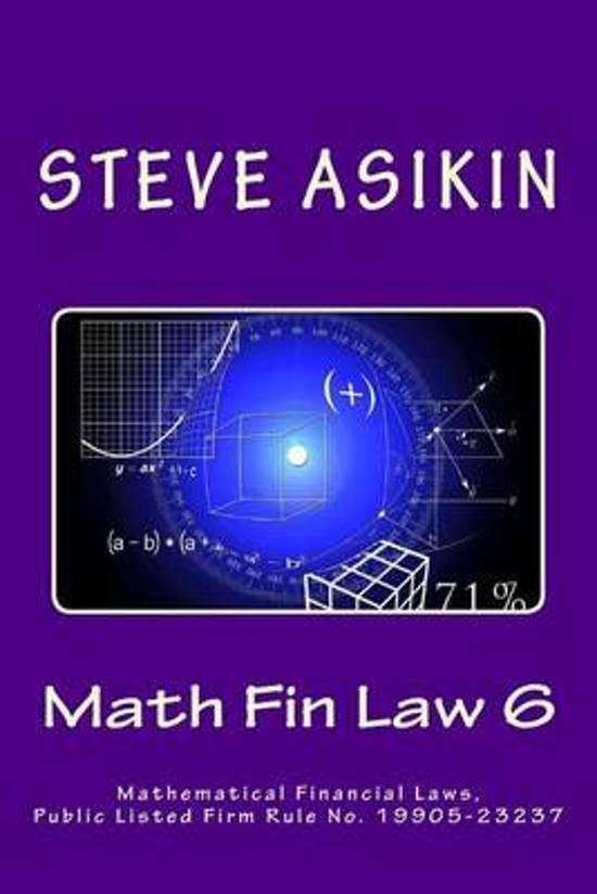 Math Fin Law 6