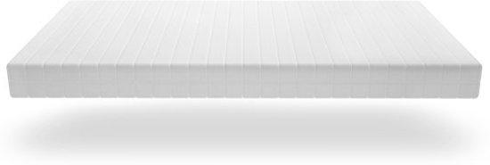 Matras - 90x190 - 7 zones - koudschuim - premium tijk - 15 cm hoog