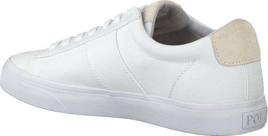 Polo Maat Lauren Heren Sneakers Sayer VulcWit 45 Ralph F5uKclJT31